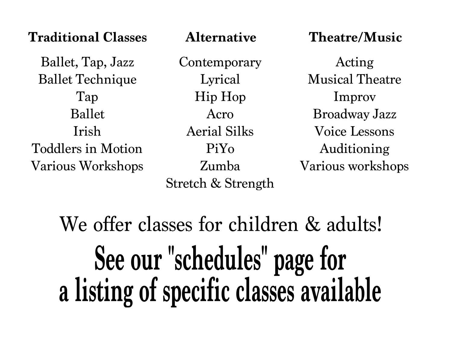 traditional-classes